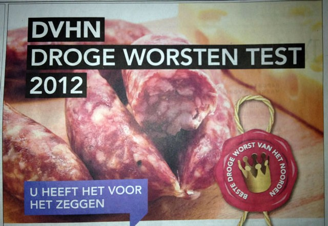 drogeworstentest