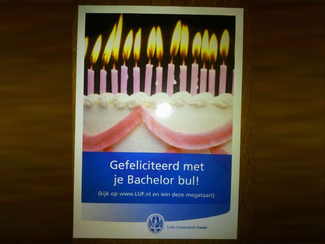 gefeliciteerd met je bul Signalering Onjuist Spatiegebruik: bachelorbul gefeliciteerd met je bul