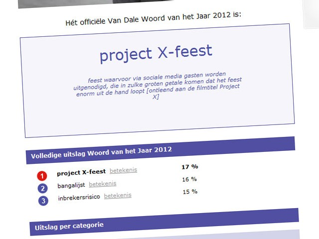 project-X-feest