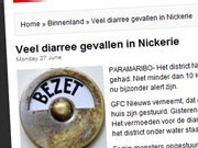 Veel diarree gevallen in Nickerie
